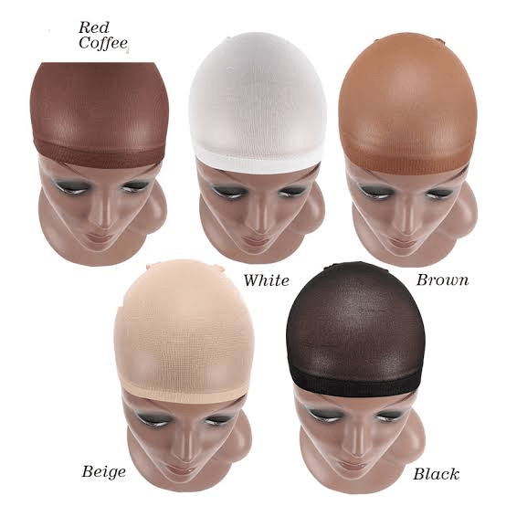 Different wig cap colors