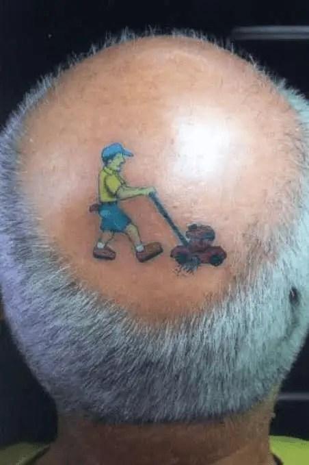 Lawnmower Tattoo
