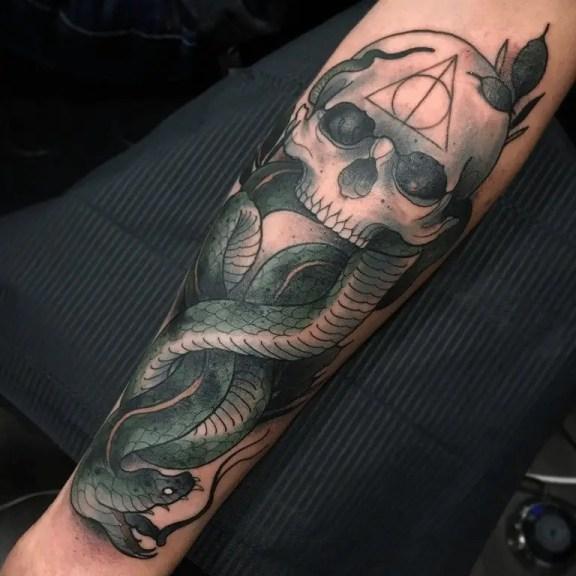 Death Eater Tattoo