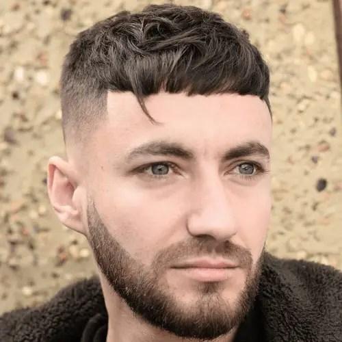 Caesar Cut Hairstyle
