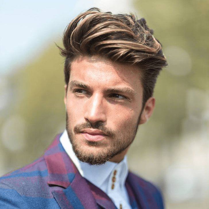 Hairstyle to look younger