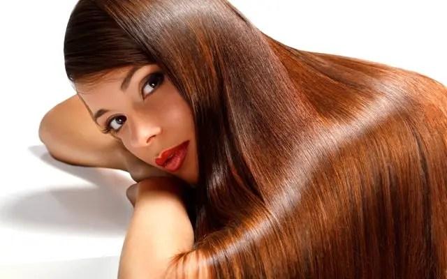 Extra shiny hair