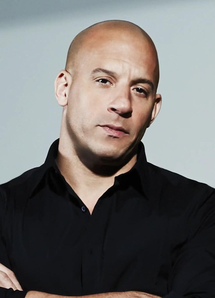 Vin Diesel Clean-shaven Head
