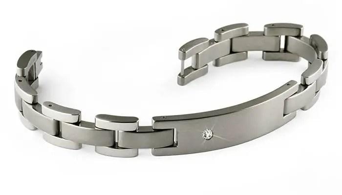Man Titanium Bracelet