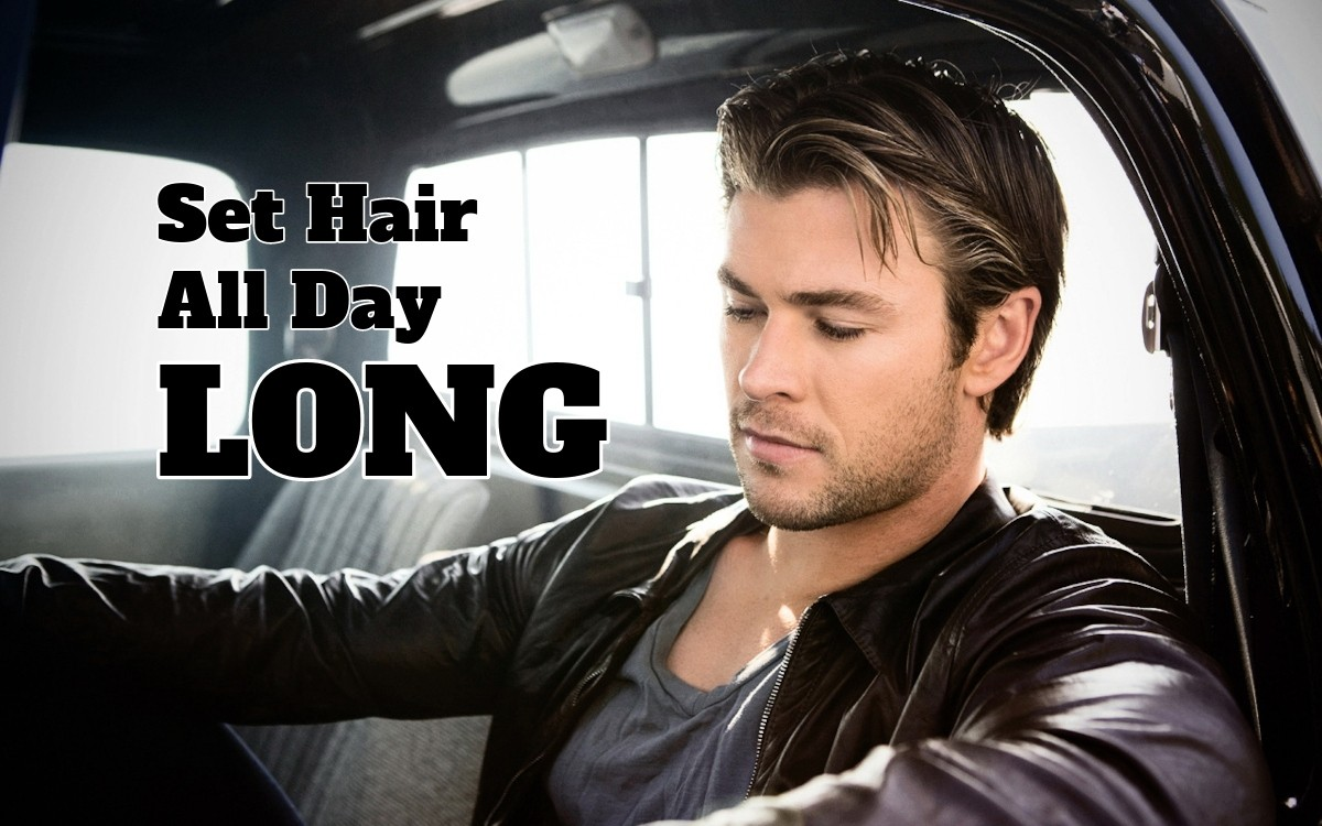 Chris Hemsworth Set Hairstyle All Day Long