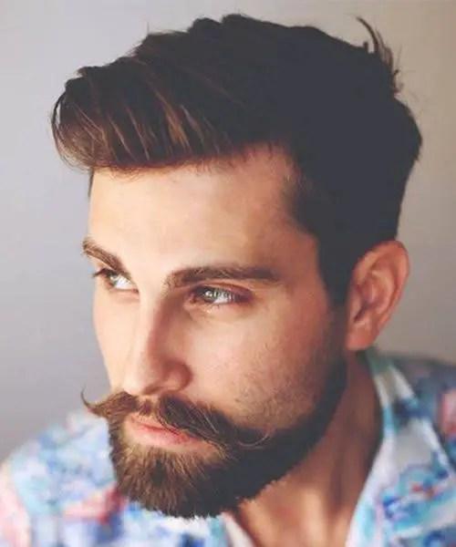 Moustache With Beard
