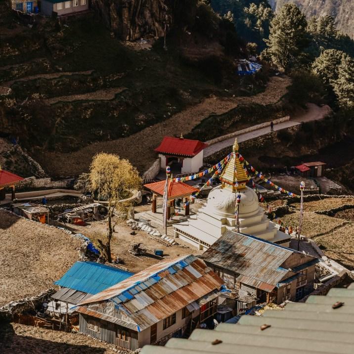 Namche Bazaar on Everest Base Camp