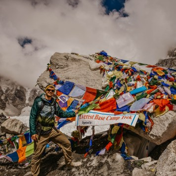 Everest Base Camp in the Himalayas, Nepal