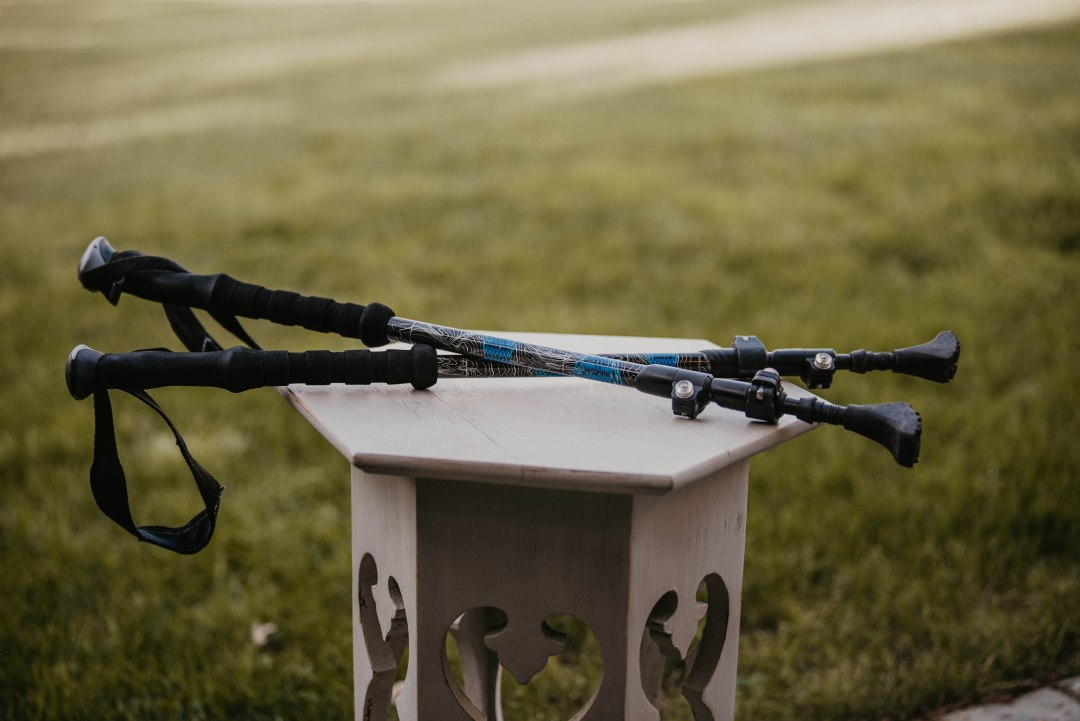 A pair of trekking poles is one of the many great gift ideas for outdoor enthusiasts.