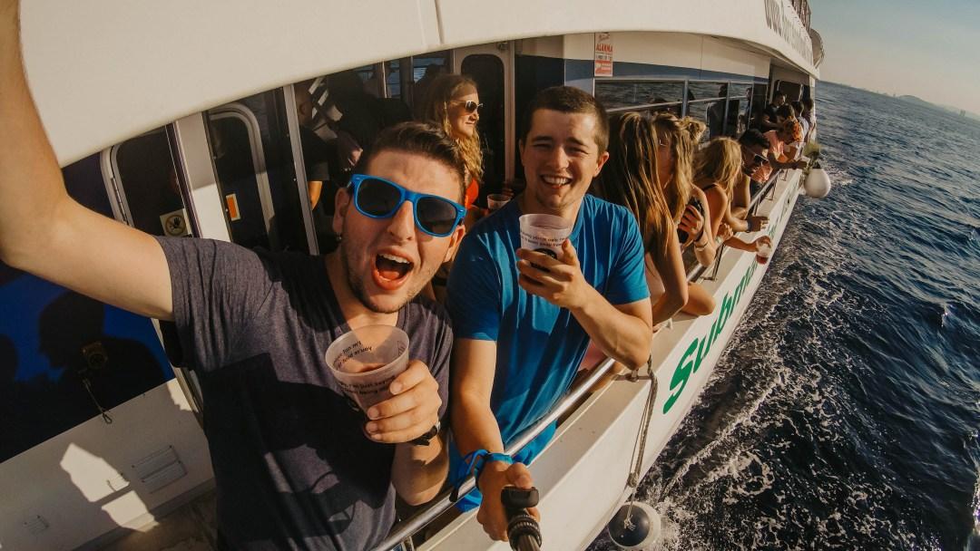 Coastal Cruise in Barcelona, Spain