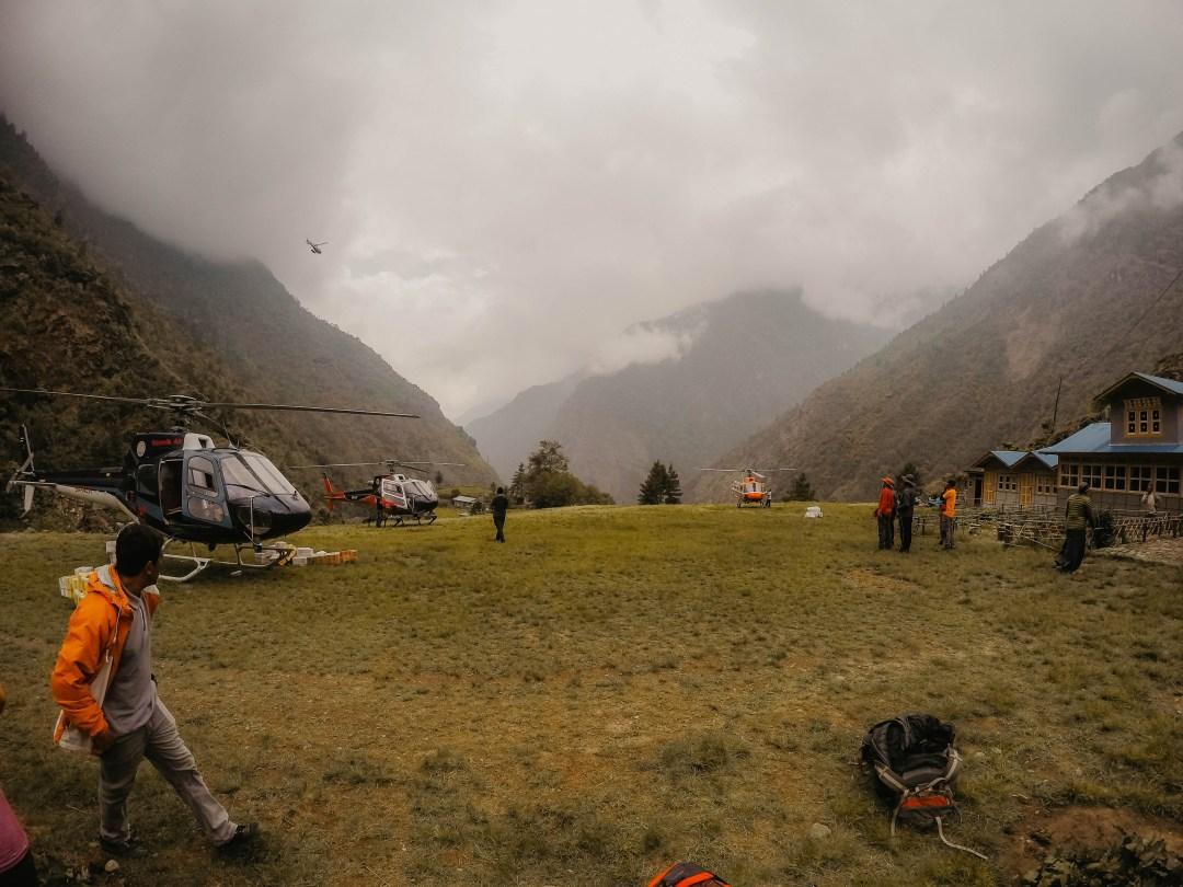 Surkey Heli Pad in Nepal