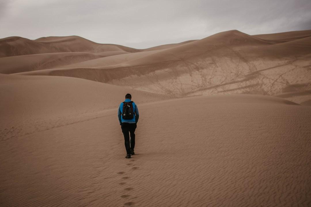 Sand Dunes National Park, Colorado [mindfulness meditation]