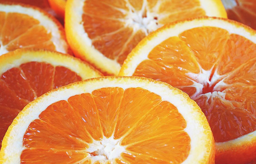 Oranges are filled with vitamin C and is essential to your health.