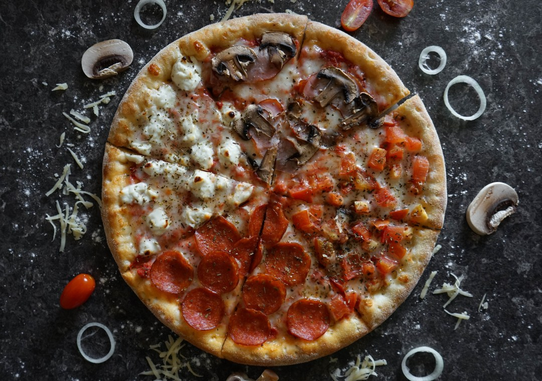 Experience New York City like a local with pizza.