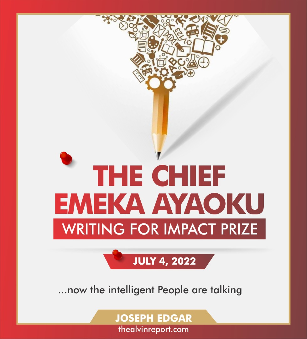 chief ameka ayaoku prize the aving report