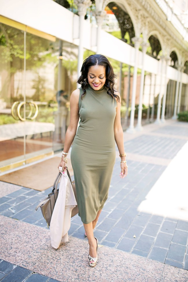 target olive midi dress, who what wear olive midi dress