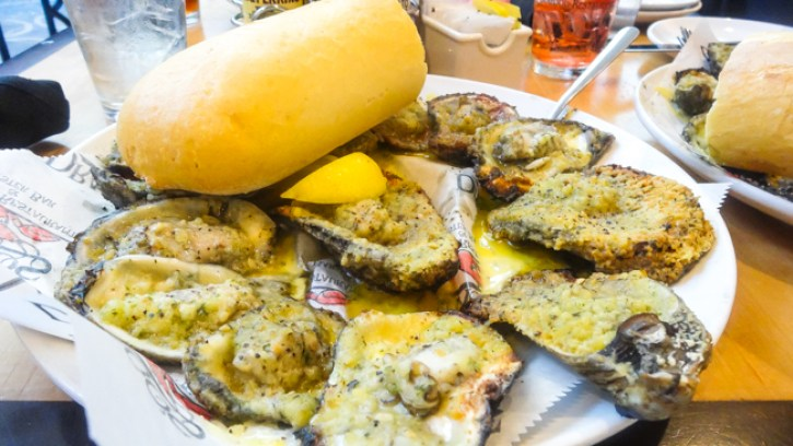 dragos restaurant new Orleans, charbroiled oysters,