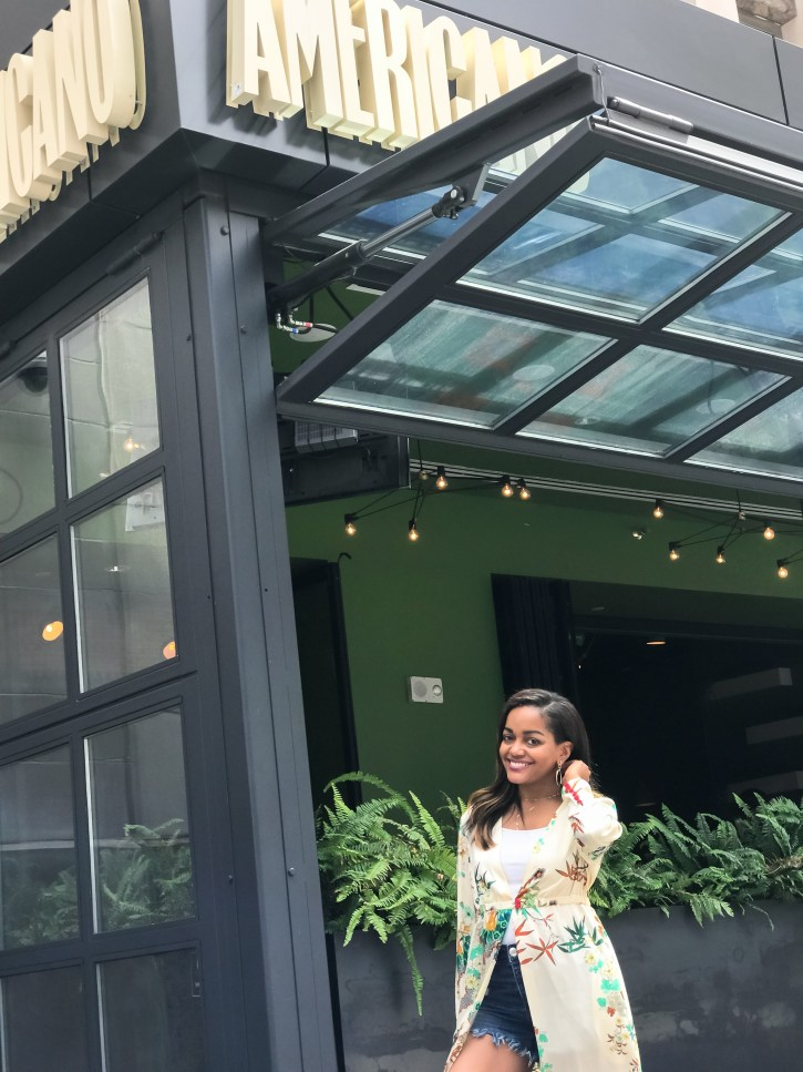 how to wear kimono, kimonos under $50, how to style kimono, zara kimono, affordable kimono, look for less kimonos, stylish kimonos, dallas blogger, downtown dallas, black fashion blogger, kimono with shorts