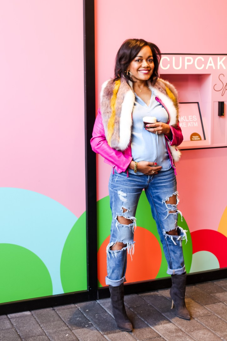 life update, sprinkles cupcakes, pregnancy announcement, bun in the oven, our little cupcake, pregnancy, maternity fashion, pregnancy style, how to announce you're pregnant, dallas blogger