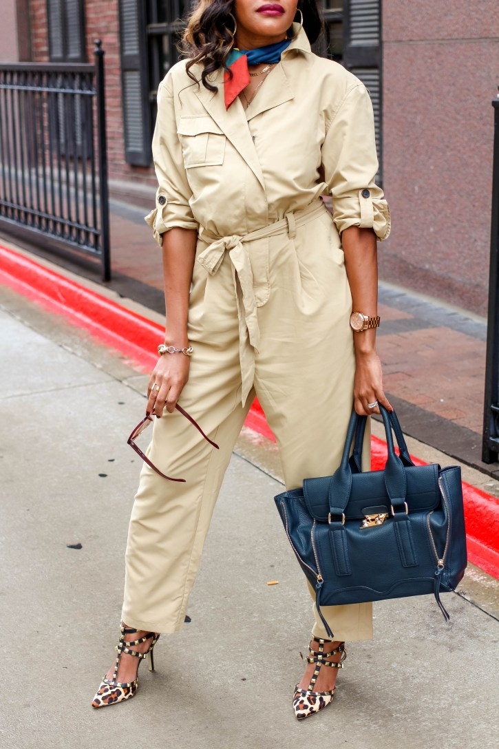 who what wear collection, who what wear jumpsuit, who what wear fall collection 2018, fall jumpsuits, utility jumpsuit, how to wear a jumpsuit, dallas blogger, fashion blogger, black fashion blogger, jumpsuit inspo