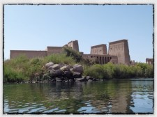 Philae Temple view from the Nile