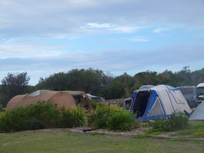 Camping in Munmorah State Recreation Area, NSW