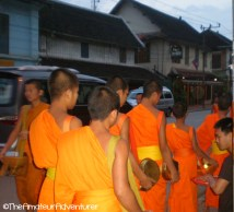 Morning Offerings - Luang Prabang