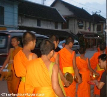 Morning Offerings - Luang Prabang