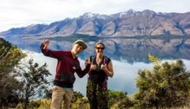 Lake Wakatipu, Richardson Mountains, My Son & Me