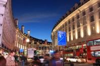 Bustling Regent Street, London