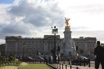 Two in one here... the Victoria memorial and Buckingham Palace... definitely monumental!