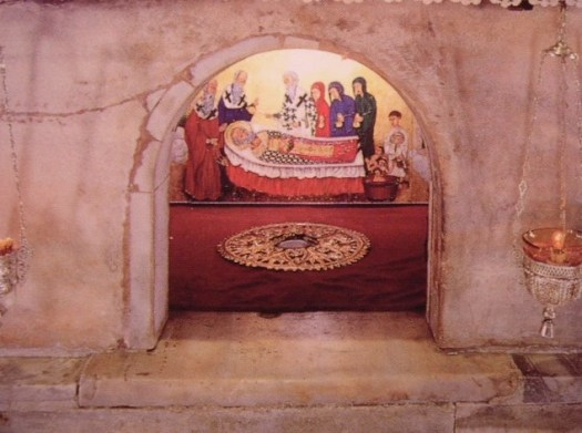 The tomb of Saint Nicholas in Bari, Italy