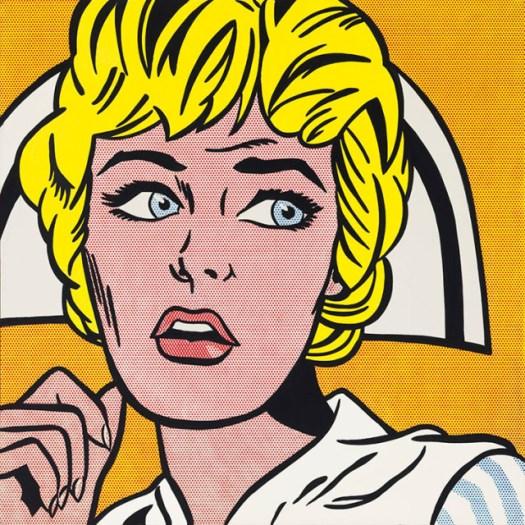 Roy Lichtenstein. Nurse