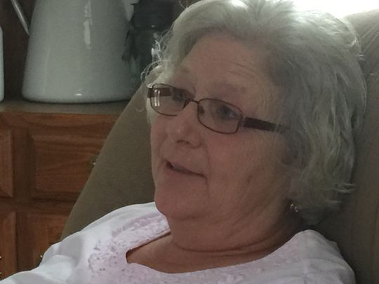 Beverley Brown talks about her grandson who cared for her dying dog this summer.