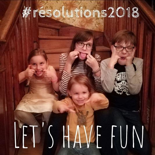 Bonnes résolutions 2018