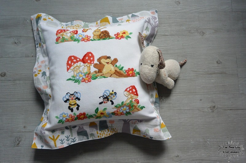 Coussin point de cr
