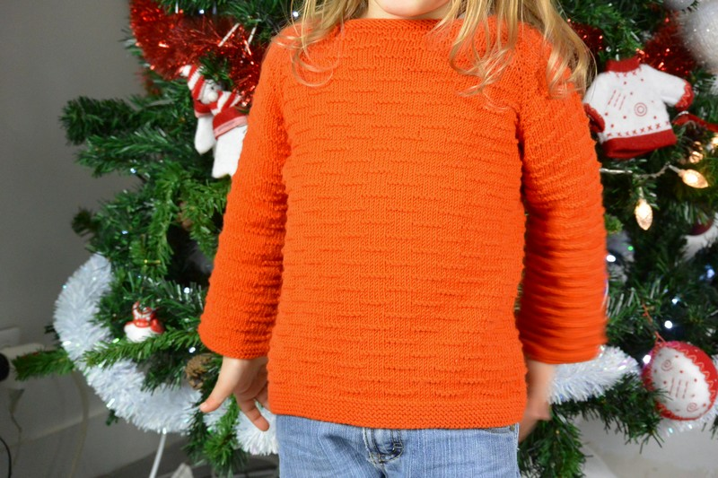 Pull Nalu Kids Tricots Woolly DMC