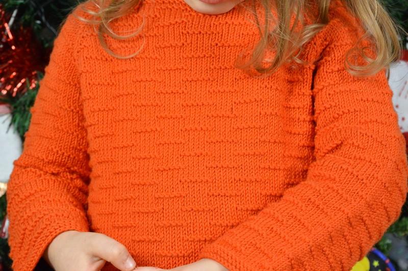 Pull Nalu Kids Tricots Woolly DMC