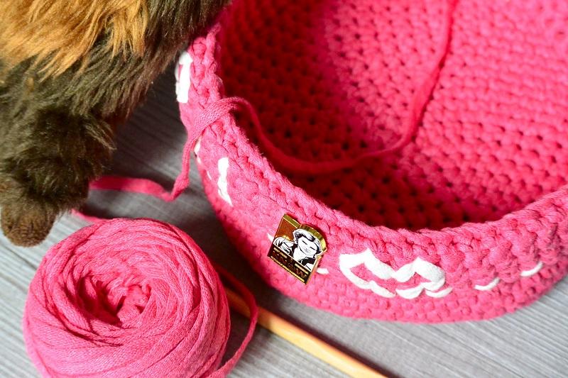 Corbeille Saint-Valentin crochet Star Wars addict
