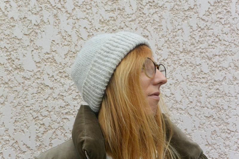 Bonnet bord côtes atelier Émilie The Amazing Iron Woman