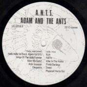 Adam & The Ants A.N.T.S. lbl 2