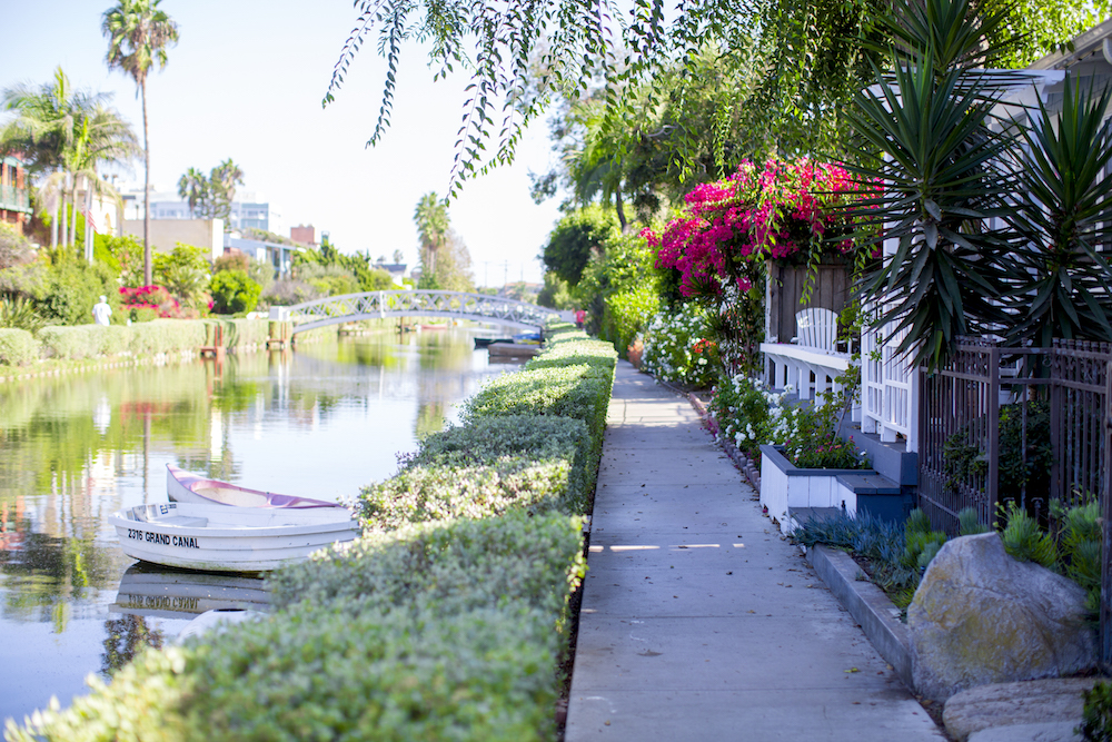 Venice Canals Spring