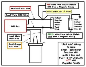 MSD wiring for 77 Hor AMX  The AMC Forum