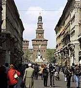 Milan, the city in the middle, offers the Duomo and Castello Sforzesco but it still passed over for other Italy destinations.