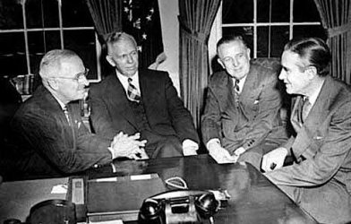 George C. Marshall and Harry Truman