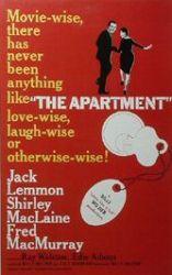 Billy Wilder, call girls, New York, The Apartment, Jack Lemmon
