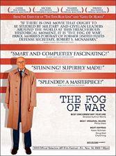 Fog of War, Errol Morris, Robert McNamara, American foreign policy, Vietnam War, World Bank