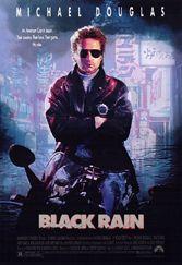 Ridley Scott, cops, Tokyo, Kate Capshaw, escort, Michael Douglas, Black Rain