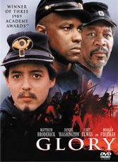 Civil War, black soldiers, guts and gore, discrimination, war scenes, carnage, heroism