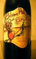 Sulfite-free wine.
